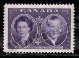 Canada 1951 Yvert 250, Royalty. Princess Elizabeth & Duke Edinburgh Royal Visit - MNH - 1937-1952 Règne De George VI