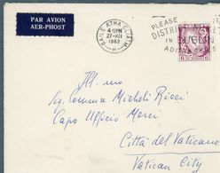 °°° Irlanda - Storia Postale °°° - 1949-... Repubblica D'Irlanda