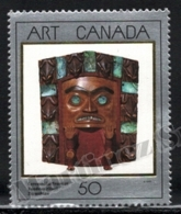 Canada 1989 Yvert 1100, Canadian Art. Folklore. Native American Culture. Ceremonial Frontlet - MNH - Nuevos