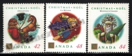 Canada 1992 Yvert 1289-91, Christmas. Jouluvana, Befana & Weihnachtsmann - MNH - 1952-.... Regering Van Elizabeth II