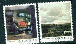 NORWAY - 1981 Paintings Set Unmounted/Never Hinged Mint - Norwegen