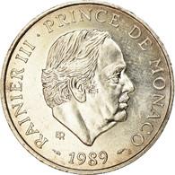 Monnaie, Monaco, Rainier III, 100 Francs, 1989, SUP+, Argent, Gadoury:MC164 - Monaco