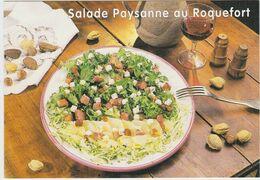 RECETTE DE CUISINE Salade Paysanne Au Roquefort Et Aux Pommes De Terre - Recipes (cooking)