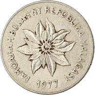 Monnaie, Madagascar, 5 Francs, Ariary, 1977, Paris, TTB, Stainless Steel, KM:10 - Madagaskar