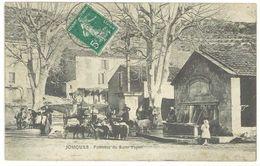 JOUQUES - Fontaine Du Saint Espritl (2232 ASO) - France