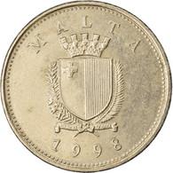 Monnaie, Malte, 10 Cents, 1998, TTB, Copper-nickel, KM:96 - Malta