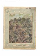 Les Dernières Volées Anecdotes Militaires 1870 Didactique Protège-cahier Couverture 220 X 175 Bien - Schutzumschläge