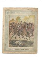 Charge Des Dragons Français Anecdotes Militaires 1870 Didactique Protège-cahier Couverture 220 X 175 Bien - Schutzumschläge