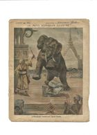 ELEPHANT BOURREAU DANS L'INDE Petit Voyageur Illustré Didactique Protège-cahier Couverture 220 X 175 Bien RRR - Schutzumschläge