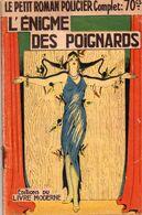 L'énigme Des Poignards Par René Virard  - Collection Le Petit Roman Policier N°111 - Ferenczi