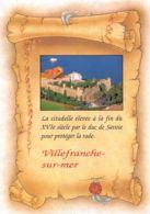 Villefranche Sur Mer (06) - La Citadelle élevée Pour Protéger La Rade - Villefranche-sur-Mer