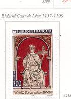 PIA  -  FRANCE  -  1999  : 800° Anniversario Della Morte Del Re D'Inghilterra Riccardo Cuor Di Leone -  (Yv  3238) - Unused Stamps