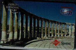 USA 1995 PREPAID CARDS SPRINT WORLD ECONOMIC FORUM MINT VF!! - Vereinigte Staaten