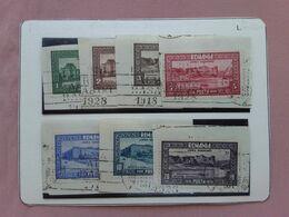 ROMANIA 1928 - 10° Anniversario Annessione Bessarabia Nn. 329/35 Timbrati + Spese Postali - 1918-1948 Ferdinand, Charles II & Michael