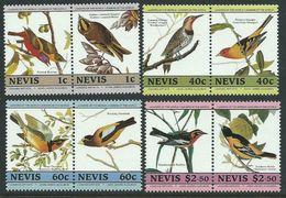 1985Nevis268-275PaarBirds7,00 € - Sperlingsvögel & Singvögel