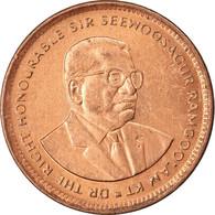 Monnaie, Mauritius, 5 Cents, 1993, TTB, Copper Plated Steel, KM:52 - Mauritius