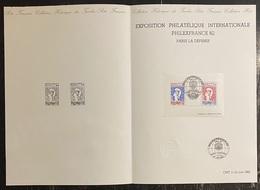 France - Document Philatélique - Premier Jour - FDC - PhilexFrance - 1982 - 1980-1989