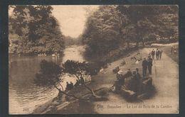 +++ CPA - BRUSSEL - BRUXELLES - Le Lac Du Bois De La Cambre  // - Foreste, Parchi, Giardini