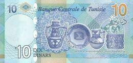 TUNISIA P. NEW 10 D 2020 UNC - Tusesië