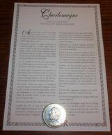 Médaille Charlemagne Roy De France - Trésor Du Patrimoine - France