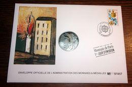 Enveloppe Monnaie De Paris - Médaille Etats-Unis D'europe Deutschland Numérotée - France