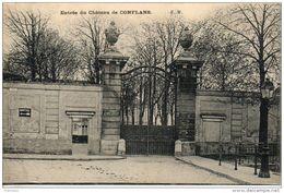 78. Conflans. Entrée Du Chateau - Conflans Saint Honorine