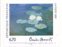 "PIA  -  FRANCE  -  1999  : Arte - ""Ninfee Effetto Serale"" Quadri Di Claude Monet -  (Yv  3247) - Ongebruikt"