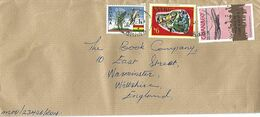 Ghana 1979 Burma Camp First Airplane Heracles Overprint CAPEX Cameleon Reptile Mais Defence Cover - Ghana (1957-...)