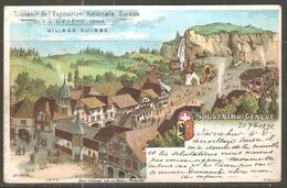 Carte De 1896 ( Genève / Exposition Nationale Suisse ) - GE Ginevra