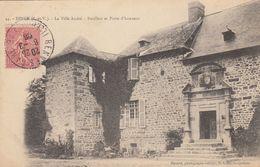 DINGE (Ille-et-Vilaine): La Ville André - Pavillon Et Porte D'honneur - France