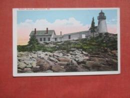 Burnt Island Light  House Southport Maine       Ref 4259 - Etats-Unis