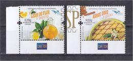 Portugal 2020 EUROMED Euro Med Gastronomia Mediterrâneo Arroz Doce Food Alimentation Orange Liquer Aromatic Stamp - Alimentación