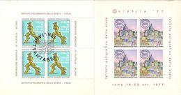 (Fb).Italia.1976-77.Lotto 2 Foglietti Erinnofili Nuovi Gomma Integra (16-19) - Vignetten (Erinnophilie)