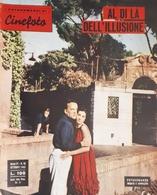 Rivista Cinefoto - Fotoromanzi - Al Di Là Dell'illusione - N. 10 - 1962 - Libri, Riviste, Fumetti