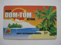 Carte Prépayée Française Des Dom-Tom  ( Utilisée ). - Antilles (Other)