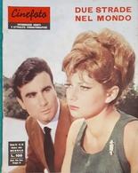 Rivista Cinefoto - Fotoromanzi - Due Strade Nel Mondo - N. 10 - 1964 - Libri, Riviste, Fumetti