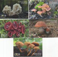 Mushroom, Czech Rep., Czech Mycological Society 201- 2020 - Calendari