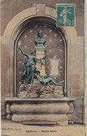 SAINT-LO - Statue Havin - Carte Colorisée - Saint Lo