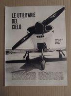 - ARTICOLO AEREI DA TURISMO / PICCHIO / MACCHINO / COBRA ED ALTRI ANNI '60 - Livres, BD, Revues