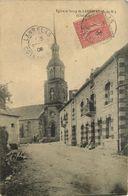 COTES D'ARMOR  LANRELAS  église Et Bourg - Frankreich