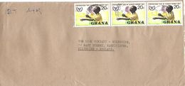 Ghana 1981 Wenchi Blind Disabled Person Cover - Ghana (1957-...)
