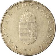 Monnaie, Hongrie, 10 Forint, 2001, TTB, Copper-nickel, KM:695 - Hungría