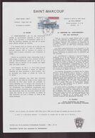 """TAAF, Document De La Poste Du 18 Mars 1981 Port Aux Français Kerguelen """" Saint-Marcouf """" - Terres Australes Et Antarctiques Françaises (TAAF)"""