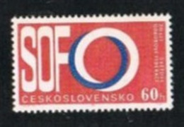 CECOSLOVACCHIA (CZECHOSLOVAKIA) -  SG 1502  -  1965 TRADE UNION WORLD FEDERATION    -  MINT** - Czechoslovakia