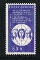 CECOSLOVACCHIA (CZECHOSLOVAKIA) -  SG 1503  -  1965 INT. DEMOCRATIC WOMEN FEDERATION    -  MINT** - Czechoslovakia