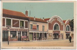 51 MOURMELON-le-GRAND  Le Tivoli Cinéma Et La Salle Des Fêtes - Mourmelon Le Grand