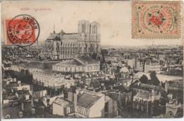 51 REIMS  Vue Générale Avec Timbre ESPERANTO - Reims