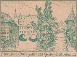 Allemagne 1928. Entier Touristique, Hôpital Du Saint-Esprit à Nuremberg. Année Dürer - Other