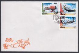 FDC CUBA 2006. AVIONES + HB. EDIFIL 4964/69 + 4970 - FDC