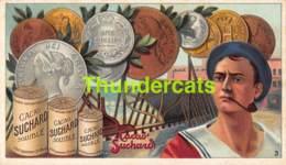 CHROMO CHOCOLAT CACAO SUCHARD SERIE 157 PIECES MONNAIE ARGENT COINS - Suchard